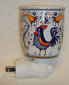 Scentsy Italian Rooster Night Light Plug-in Warmer for Melting Scented Wax ** Continue to the product at the image link.