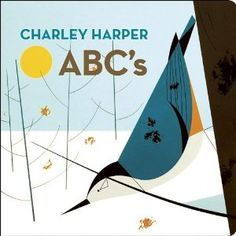 """He loves the Charley Harper illustrations, in this one, """"Colors,"""" and """"123s."""""""