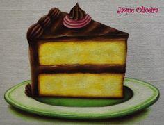 Pintura em tecido. Painting fabric. #painting #pintura #cake #bolo