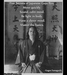 Gogen Yamaguchi. Goju Ryu