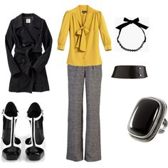 Definitely digging this... those shoes, herringbone pattern pants, the yellow shirt- LOVE it!