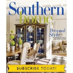 Southern Home September / October 2017!  Beautiful issue that is full of inspiring design