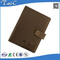 Check out this product on Alibaba.com APP Spiral bound with yellow paper custom embossing cover notebook with wallet