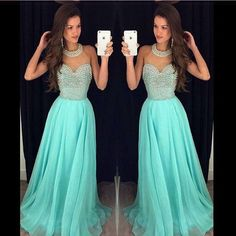 Second Hand Prom Dresses Uk Heavy Stones And Pearls Prom Dresses For Tall Girls O Neck Chiffon Dress Long Party Gowns Sheer Beaded Collar Short Prom Dress 2015 From Adminonline, $118.24| Dhgate.Com