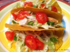 What's cooking in the burbs: Slow Cooker Spicy Cream Cheese Chicken Tacos