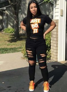 Stylish Dresses For Teenage Girls - Teen Clothing - School Outfits Nike Outfits, Teen Swag Outfits, Teenage Outfits, Chill Outfits, Outfits For Teens, Summer Outfits, Ghetto Outfits, High School Outfits, Simple Outfits