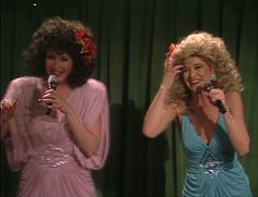 Women of SNL | Saturday Night Live | NBC Nora Dunn and Jan Hooks as The Singing Sweeney Sisters