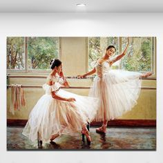 Canvas Wall Picture Ballet Dancing Girl Modern Oil Painting Wall Decor Art For Home Office Hotel-in Painting & Calligraphy from Home & Garden on Aliexpress.com | Alibaba Group