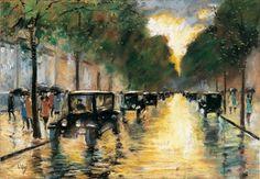 Max Liebermann - Impressionismus - Unter den Linden