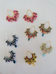 Ecco il tutorial degli orecchini Tutu : Boucles d'oreille par perles-des-caraibes