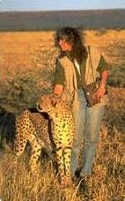 Dr. Laurie Marker, Founder of the Cheetah Conservation Fund.  She went to Africa with all the money to her name and founded this very essential center that not only works to preserve the cheetah but works with people to conserve the land and culture as well.
