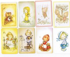 Swap Cards...I can still remember every one I had...including Betsey Clark, Holly Hobby and the Peanut gang!