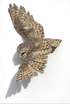 2013 Gallery Hatfield - Art in Clay Simon Griffiths Sculpture Clay, Ceramic Sculpture, Ceramic Animals, Art, Owl Art, Bird Sculpture, Sculpting Clay, Bird Art, Driftwood Art Sculpture