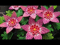DIY - Quilling Flower 3D New - in Collection Quilling Flowers 3D - YouTube