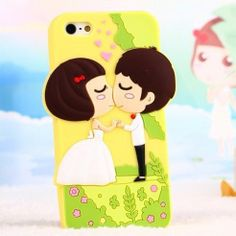 iPhone 5 / 5s Case - Cute Cartoon Patterned Soft Silicone - Nplustwo.com