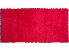 Alfombra Plus. Color rojo.
