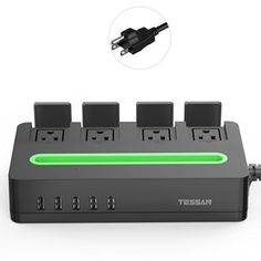 Amazon Lightning Deal 62% claimed: TESSAN 4 Outlet Surge Protector(1700J) Protective Cover Power Strip with 5 US... #LavaHot http://www.lavahotdeals.com/us/cheap/amazon-lightning-deal-62-claimed-tessan-4-outlet/129910