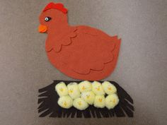 Fun with Friends at Storytime: Chickens -- yellow cotton balls or pom-poms w/beaks & eyes would be a great craft for Chicks Run Wild!