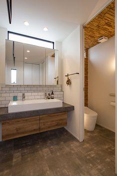 Wash Stand, Bathroom Trends, Minimalist Bathroom, Wet Rooms, Japanese House, Washroom, Bathroom Inspiration, Home Renovation, Powder Room