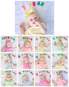 That was quick! From newborn to one year in a blink of an eye! Blink Of An Eye, Website, Bebe