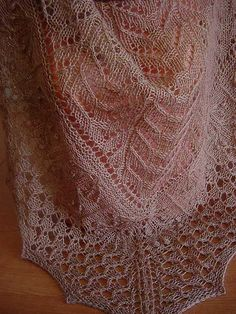 Ravelry: Project Gallery for Ouro Preto Shawl KAL pattern by Aloisio santos