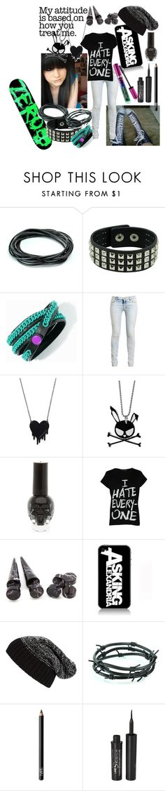 """skateboarder"" by xxxxsourxxxx ❤ liked on Polyvore featuring Princess Vera Wang, Converse, Ksubi, Alex and Chloe, E.vil, Delta Tribe, Tarnish, Barbed, Revlon and NARS Cosmetics"