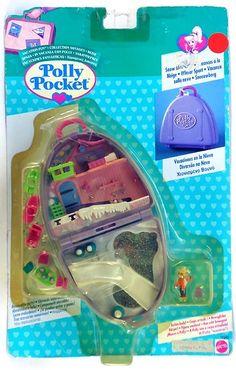 Rare European Polly Pocket 'Snow Mountain' SET 1999 | eBay