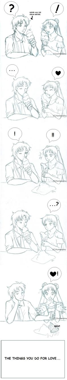 :Seiya+Usagi: The Things You Do For Love Sketch by TheYumeNoInu.deviantart.com on @deviantART