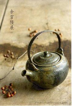 灰釉粉引四方6寸鉢 : 朝虹窯