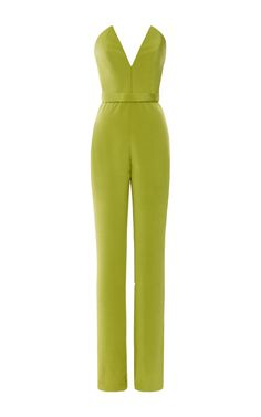 Silk Crepe Jumpsuit by Cushnie et Ochs for Preorder on Moda Operandi