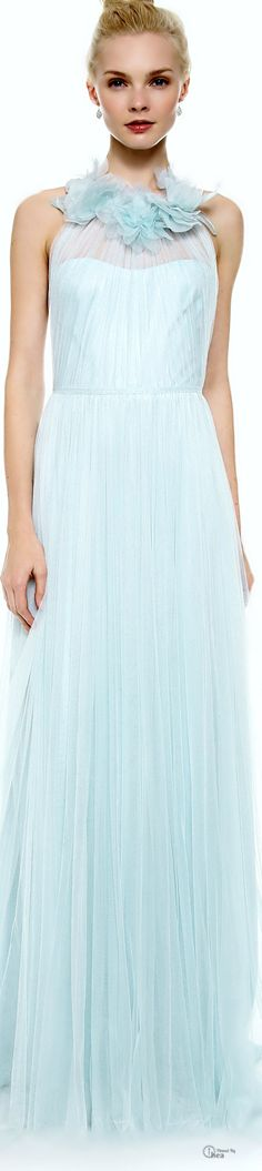 Marchesa ● Draped Tulle Gown   jaglady