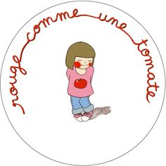 rouge comme une tomate French School, French Class, Expression Imagée, French Practice, French Conversation, French Expressions, French Resources, French Language Learning, French Quotes