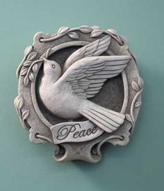 1151 Dove of Peace #carruthstudio #peace #veterans #gift #usa #stone #handmade #dove
