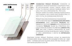Szkło laminowane Opusglass to nie tylko innowacyjny produkt końcowy. To przede wszystkim rozwinięte zaplecze technologiczne.  ______________ www.opusglass.pl