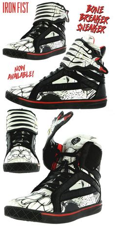 Bone Breaker Sneaker by Iron Fist