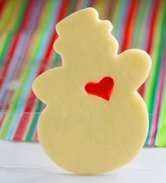 Stained Glass Cookies...(Fun to do this with a Grinch cut-out)