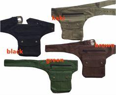 UTILITY BELT assorted colours fanny pack Pocket por GekkoBoHotique