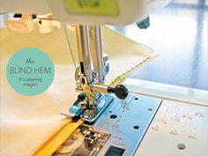 How to Make a Blind Hem | Sew4Home