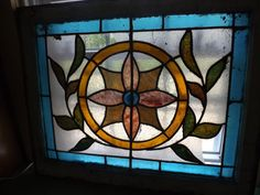 Antique Stained Glass Window American Victorian by fishbones1