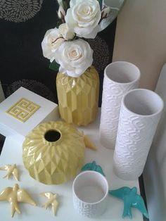 Jarras faiança Andorinhas faiança Vase, Home Decor, Swallows, Environment, Decoration Home, Room Decor, Vases, Home Interior Design, Home Decoration