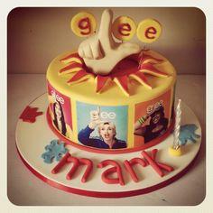 Glee cake!!! Facebook.com/loveatfirstslice