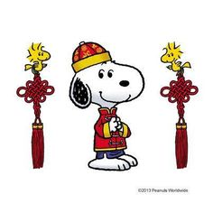 'Snoopysan', Snoopy in an Asian Outfit.