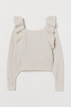 Fashion Art, Cute Fashion, Winter Sweaters, Cable Knit Sweaters, Zara, Quilted Skirt, Fashion Company, Mannequin, Neue Trends
