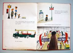 """This is Paris"" - M. Sasek My Vintage Avenue !!! 50's and 60's illustrations !!!: M. Sasek - Paris"