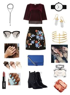 """Untitled #259"" by heather2003 on Polyvore featuring River Island, Topshop, Zimmermann, MICHAEL Michael Kors, BillyTheTree, BauXo, Urban Decay, Gucci and Christian Dior"