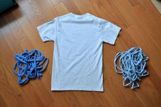 How to Cut T-Shirt into Continuous Yarn!