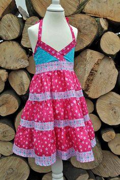 Kleider - Mädchenkleid / Einschulungskleid Gr.86/92 - ein Designerstück von MissSunday bei DaWanda