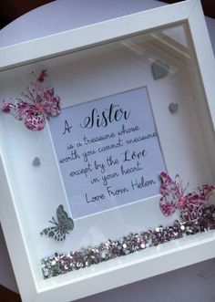 Creative DIY shadow box to surprise and beautify your loved ones . - Creative DIY shadow box to surprise and beautify your loved ones … - Box Frame Art, Diy Frame, Cadre Diy, Diy Shadow Box, Shadow Box Frames, Diy Presents, Diy Gifts For Boyfriend, Frame Crafts, Button Crafts