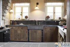 kitchen, wood, keuken, hout, natuursteen