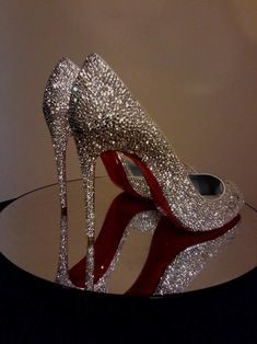Unique Custom Wedding Shoes Shoe Strass Service Christian wedding shoes Items similar to Send In Your So Kate, Pigalle or Simiar Style Shoes for Custom Strassing, Strass Shoe Service, Louboutin Strass Shoes, Strass Shoes on Etsy Bling Wedding Shoes, Bling Shoes, Fancy Shoes, Wedding Heels, Prom Shoes, Bridal Shoes, Cute Shoes, Me Too Shoes, Glitter Shoes
